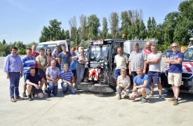 Nieuwe veegmachine en andere wagens - gemeente Staden
