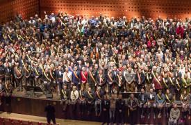 Burgemeesters en Schepenen Koningin Elizabethzaal Antwerpen Voor VVSG